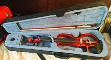 Cecilio Style2 4/4 Solid Maple Wood Electric Violin incl. Case, Bow&Accessories
