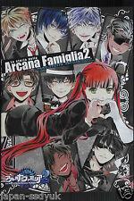 JAPAN La storia della Arcana Famiglia 2 Official Visual Fan Book