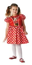 DISNEY MINNIE MOUSE CLASSIC COSTUME RED DRESS - LARGE AGE 7 - 8 YEARS