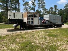Mobile Hemp Mesh Belt Dryer 53 Ft Trailer And 100kw Generator Included