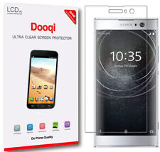 2X Dooqi [Full Coverage] Sony Xperia XA2 HD Clear LCD TPU Screen Protector Saver