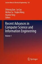 Recent Advances in Computer Science and Information Engineering NEW