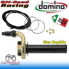 Comando gas rapido Domino Tommaselli Superbike Oro Kit completo SBK