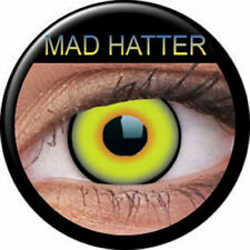 Lenses Daily Green Yellow Mad Hatter Crazy / Mad Hatter phantasee