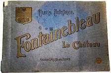 ALBUM TOURISTIQUE FONTAINEBLEAU LE CHÂTEAU 20 PHOTOS GRAND FORMAT 31 x 21 cm