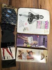 Vintage Stocking & Pantyhose Lot Size Medium New Old Stock - Free Us Shipping