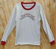 Orig Don Williams 1983-84 World Tour Long Sleeve Ringer Style T-Shirt Medium