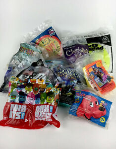 Wendys Kids Meal Toys Lot Of 12 Collectible Games & Toys New Sealed In Bag