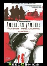 AMERICAN VAMPIRE VOLUME 1 GRAPHIC NOVEL New Paperback Collects Issues #1-5