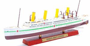 Xmas Gift Atlas 1:1250 HMHS Britannic Cruise Ship Model  Diecast Ocean Boat Toys