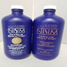 Nisim Shampoo & Conditioner for Normal to Dry Hair 33 oz. *FREE SAMPLES*