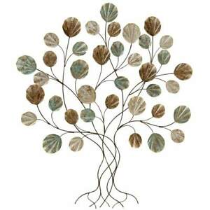 Wandobjekt Oya, Baum, Eisen