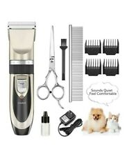 Oneisall Cordless Dog Grooming Clippers Electric Dog Trimmer Shaver