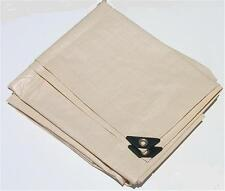 14' x 14' TAN / BEIGE HEAVY DUTY POLY TARP w/UV BLOCKER