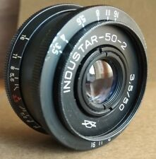 INDUSTAR 50-2 3.5/50 M42 ZENIT CANON Nikon  USSR Lens