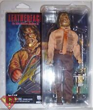 "LEATHERFACE The Texas Chainsaw Massacre Part 3 8"" inch Clothed Figure Neca 2017"