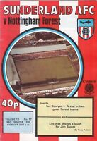 Sunderland v Nottingham Forest 1983/4 (18 Feb)
