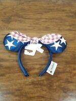 Disney Parks Patriotic Minnie Ears Mickey Mouse Americana