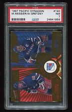 1997 Pacific Dynagon Wayne Gretzky #140 PSA 7 w/Messier