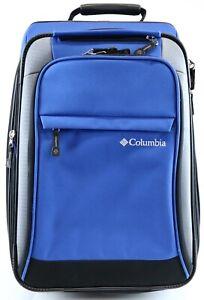 Columbia Sportswear Heavy Duty Travel Bag / Luggage /Suit Case On Wheels M18418