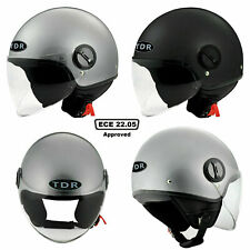 TDR OPEN FACE HELMET AUSTRALIAN APPROVED ROAD USE FOR MOTORYCLE SCOOTER  EBIKE