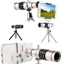 Telescope Telephoto Lens 18x Camera Phone Clip Optical Tripod Universal Iphone