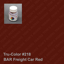 218 Tru-Color Paint BAR Freight Car Red