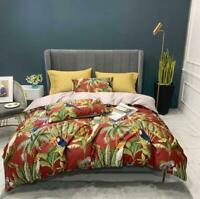 3D Tropical Forest Trees Birds KEP2219 Bed Pillowcases Quilt Duvet Cover Kay