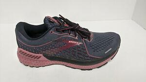 Brooks Adrenaline GTS 21 Running Shoes, Dark Grey/Purple, Women's 8 Wide