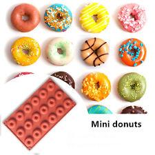 1pcs 18 Cavity Donut Mould Round Shaped Doughnut Molds Baking Pan Kitchen Tool