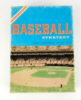 VINTAGE 1977 BASEBALL STRATEGY AVALON HILL SPORTS ILLUSTRATED GAME RARE