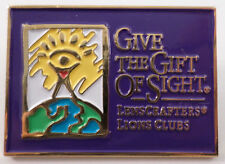 Lions Club Collectors Hat Lapel Pin Lens Crafters Give The Gift Of Sight