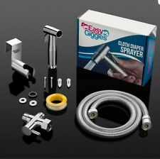 Stainless Steel Cloth Diaper Sprayer Kit By Easy Giggles Handheld Sprayer Bidet