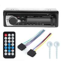 12V LCD Car Bluetooth Hands-Free MP3 Stereo Music Player USB AUX Radio Head Unit