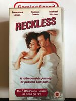 Reckless, Robson Green Drama VHS Video Retro, Supplied by Gaming Squad