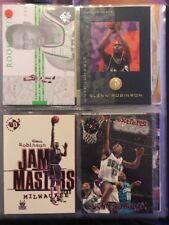 Tarjetas de baloncesto de la NBA Glenn Robinson inserciones raras