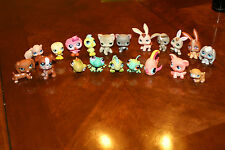Littlest Pet Shop LPS Lot of 20 Includes Dachshund 556, and misc animals used..