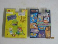 NEW LOT Nickelodeon The Best Of Nicktoons Cassette Tape 90's & Mighty Reptar
