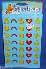Care Bears Reward Progress Stickers 2003 4 Sheets NIP Free Ship Over $15