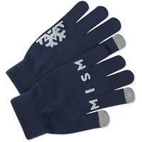 Life is Good Texting Optimistic Snow Gloves, Darkest Blue, One Size