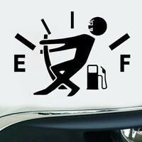 High Gas Consumption Trunk Window Door Funny Car Sticker Black Vinyl Decal