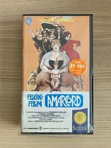 Federico Fellini _ Amarcord _ VHS _ 1990 Warner Italia NUOVA SIGILLATA !