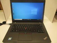 T05-Lenovo Thinkpad L460 i5-6300U-2.4GHz 8GB 500GB HDD Windows 10 Pro  1920X1080