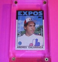 1986 Topps Traded # 40T Andres Galarraga Rookie baseball card MINT (from set).