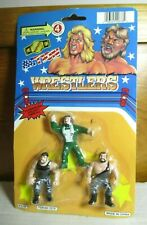 "Vintage KO Mini Action Wrestlers WWF 2.5"" Million Dollar Man Bushwacker Figure"