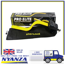 STOPLOCK PRO ELITE PREMIUM STEERING LOCK 100% EFFECTIVE FREE STORAGE BAG