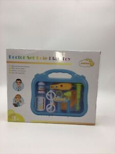 Doctor Kit Pretend Play Medical Set Case Doctor Nurse Game Playset Gift for Kids