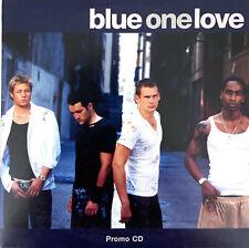 Blue CD Single One Love - Promo - Europe (EX/EX+)