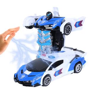 2-in-1 Remote Control Transformable Car Robot Gesture Sensing Car Robot