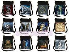 New Lisa Parker Anne Stokes ladies gothic fantasy art wolf cat shoulder bag